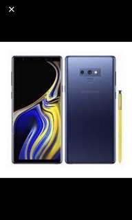 Samsung Note 9 BNIB BLUE COLOR 128GB