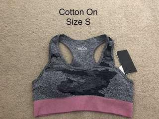 BNWT Cotton On sport bra size XS