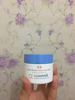 Illuminare night gel creme