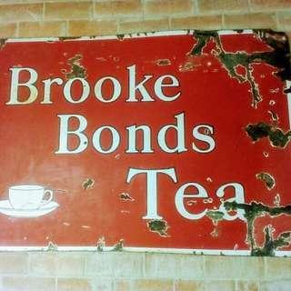Brooke Bonds Tea Enamel Sign