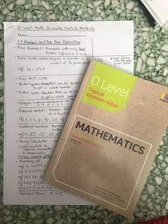 O level Mathematics