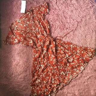 Zaful Quality Wrap Around Dress