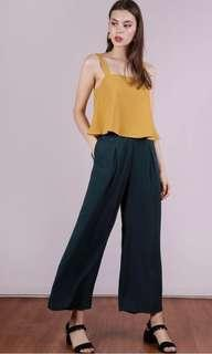 TTR Bondi Flowy Pants (Forest Green XS)