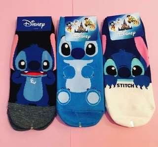 Disney LILO & STITCH Adult Ankle Socks size 7-11.5AUS