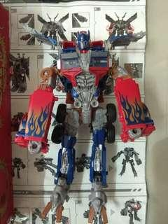 Transformers Ultimate Optimus Prime Year of The Dragon Hasbro