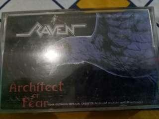 Kaset Pita Band Raven : Architect of Fear