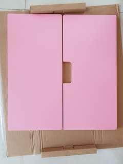 IKEA STUVA / FRITIDS Children Wardrobe Pink Doors (2 Sets)