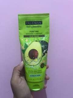Freeman mask avocado + oatmeal