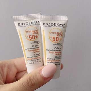 Bioderma Photoderm SPOT 高效修護防曬霜 SPF50+ 5mlx2