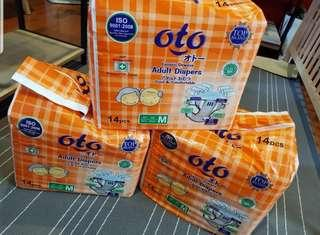 Oto Adult Diapers Take All