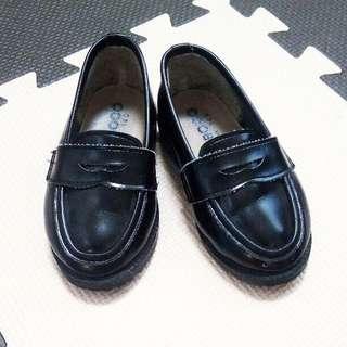 男童日本黑色小皮鞋babyboy shoes kids shoes