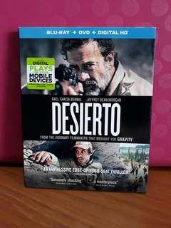 USA Blu Ray Slipcase - Desierto