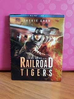 USA Blu Ray Slipcase - Railroad Tigers