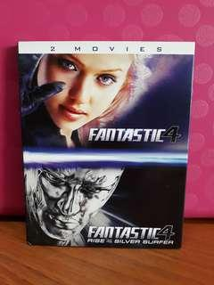 USA Blu Ray Slipcase - Fantastic Four 1 & 2