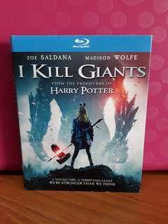 USA Blu Ray Slipcase - I Kill Giants