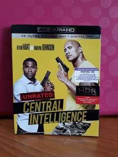USA Blu Ray Slipcase 4K - Central Intelligence