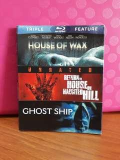 USA Blu Ray Slipcase - House of Wax / Ghost Ship / Return to House on Haunted Hill