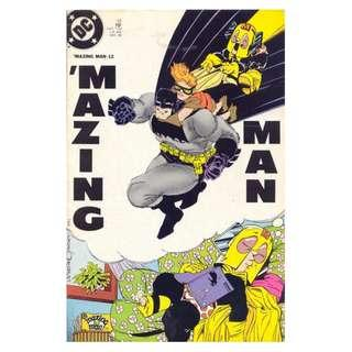 'Mazing Man #12 Carrie Kelly  Frank Miller cover