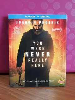 USA Blu Ray Slipcase - You were never really here