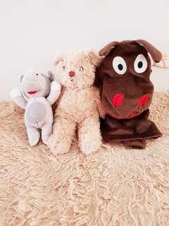 paket boneka ( bear house)