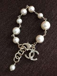Chanel Pearl Bracelet fire sale