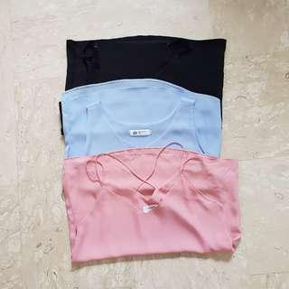 3 for $10 UK 8 Basic Ulzzang Tops