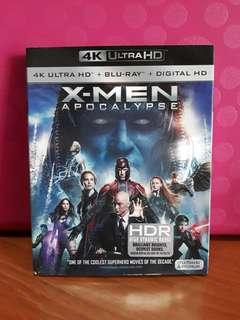 USA Blu Ray Slipcase 4K - X Men Apocalypse
