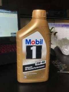 Mobil 1 Engine Oil 0W-40 Ultimate