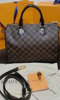 "Louis Vuitton Speedy 30"" bandouliere"