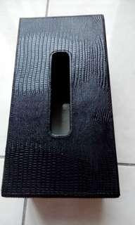🚚 造型面紙盒(壓皮花紋)