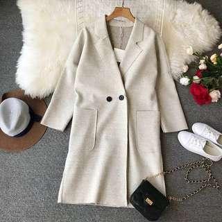 ⏳ (More cols) Oversized Doctor Long cotton Coat / jacket