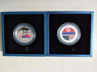 Trump Kim Silver Proof 1st & 2nd Edition