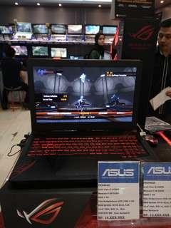Asus TUF FX504GD-E4309T Gaming Notebook - Gun Metal [i7-8750H/ 8GB/ 1TB/ GTX1050-4GB/ Win10 Home/ 15.6 FHD]