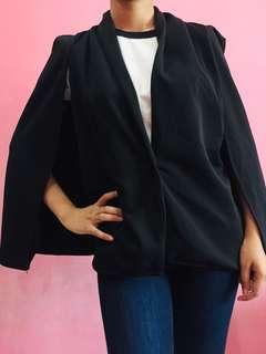 Cape blazer black