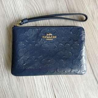 Coach Debossed Pattern Leather Readystock with Guft Receipt
