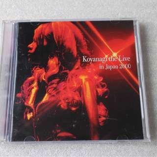 CD。小柳由紀、YUKI KOYANAGI、2 CD -LIVE IN JAPAN 2000..