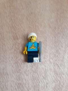 Injured Lego figure