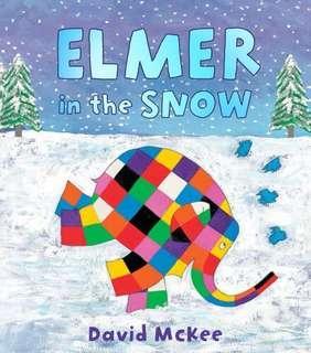 🚚 (BN) Elmer in the snow