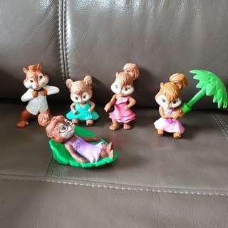 Alvin and the chipmunks (all for $5)