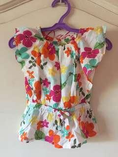 Baby Butterfly Sleeve Top