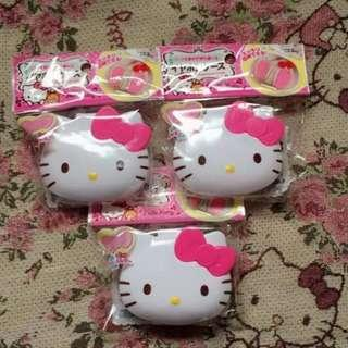Hello kitty ear phone case authentic from Japan