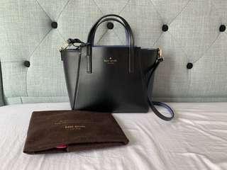 Kate Spade Black Shopping Shoulder Bag