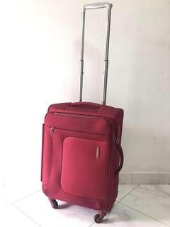50% Off Samsonite Red Cabin Size Carry On Luggage