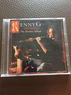 CD: KENNY G ( Miracles)/ The Holiday Album; As Shown