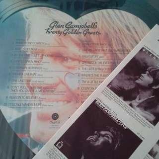 Glen Campbell twenty golden greats  vinyl 英文 黑膠碟