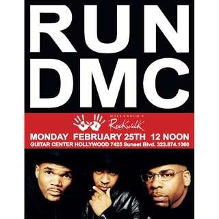 Run DMC posters