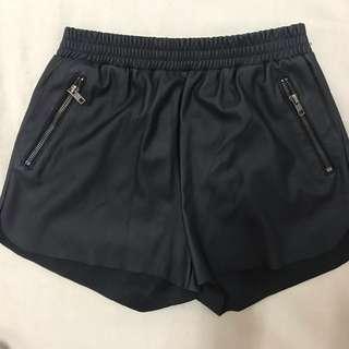 Nana Judy Leather Shorts