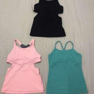 Exercise Singlets 3 For $10
