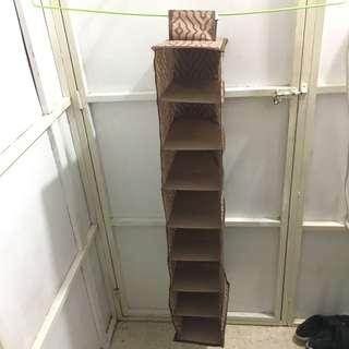 Fabric Shelving Unit