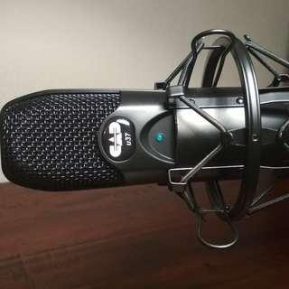 CAD Audio U37 USB Condenser Microphone + Pop Filter + Shock Mount + Desktop Boom Stand
